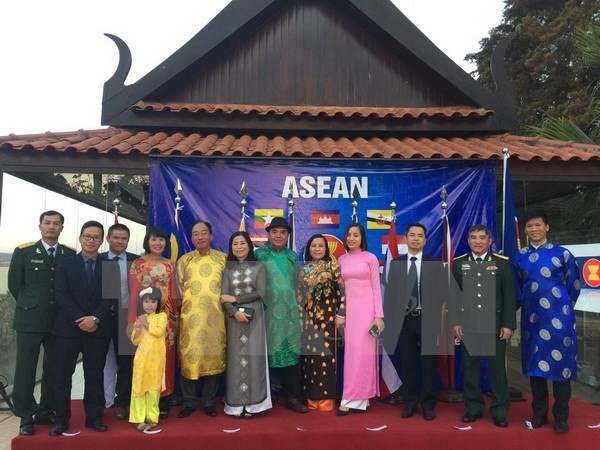 Memperingati ultah ke-50 Hari Berdirinya ASEAN di Brasil - ảnh 1