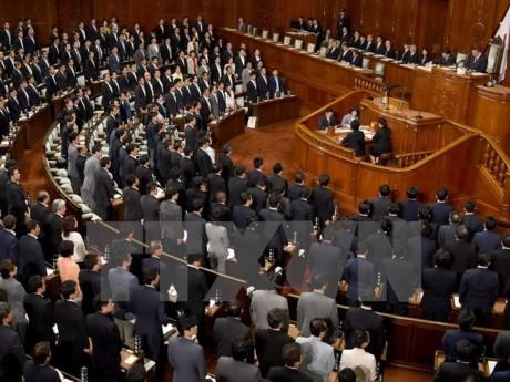 Uji coba nuklir RDRK: Komisi Hubungan Luar Negeri Majelis Rendah Jepang mengesahkan resolusi mengutuk kasus ini - ảnh 1