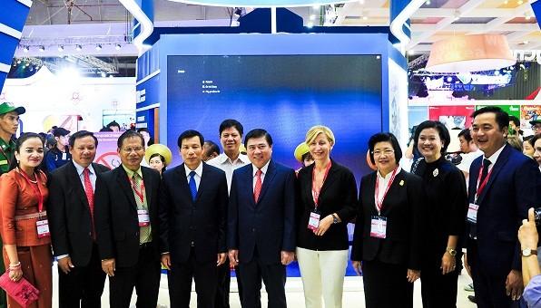 Pembukaan Pekan Raya Pariwisata Internasional Kota Ho Chi Minh - ảnh 1