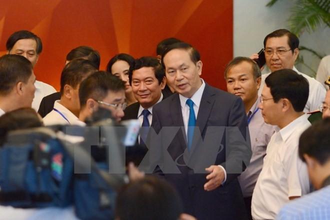 APEC 2017 meningkatkan posisi dan peranan Vietnam di gelanggang internasional - ảnh 1