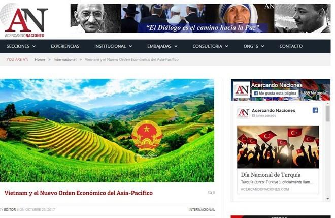 APEC: Media internasional menilai tinggi peranan dan posisi Vietnam - ảnh 1