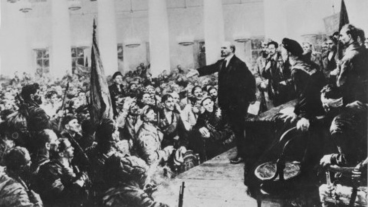 Bercahayalah fikiran Revolusi Oktober Rusia untuk selama-lamanya - ảnh 1