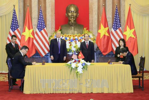 Pernyataan bersama AS dan Vietnam - ảnh 1