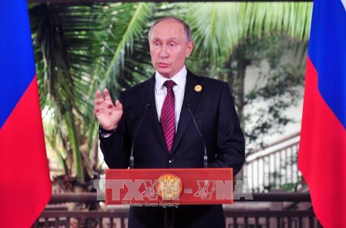 Presiden Rusia, Vladimir Putin menilai tinggi semua tema di KTT APEC 2017 - ảnh 1