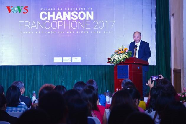 Kontes Menyanyi dalam bahasa Perancis tahun 2017 – Event budaya yang mengkonektivitaskan dua peradaban Asia-Eropa - ảnh 1