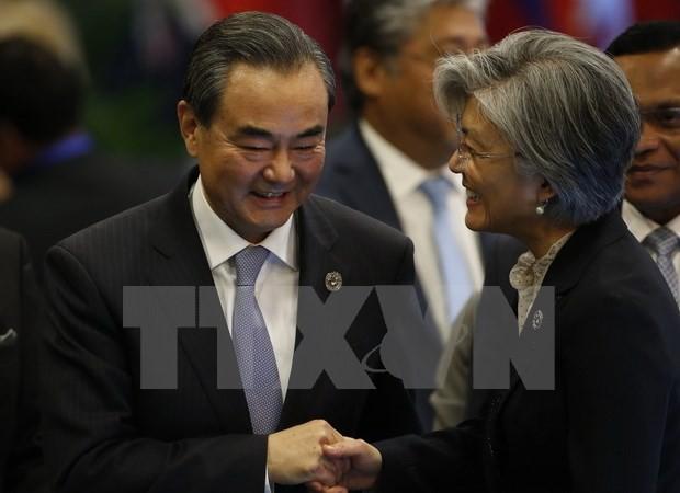 Tiongkok dan Republik Korea berupaya memperbaiki hubungan bilateral - ảnh 1