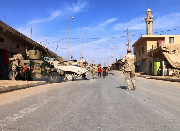 Pasukan-pasukan Irak membuka front baru dalam operasi pemburuan IS - ảnh 1