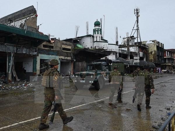 Tentara Filipina memperkuat operasi sapu bersih kaum pembangkang NPA - ảnh 1