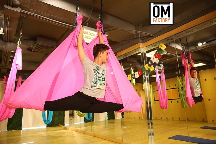 Aerial Yoga – Airtime for better health - ảnh 1