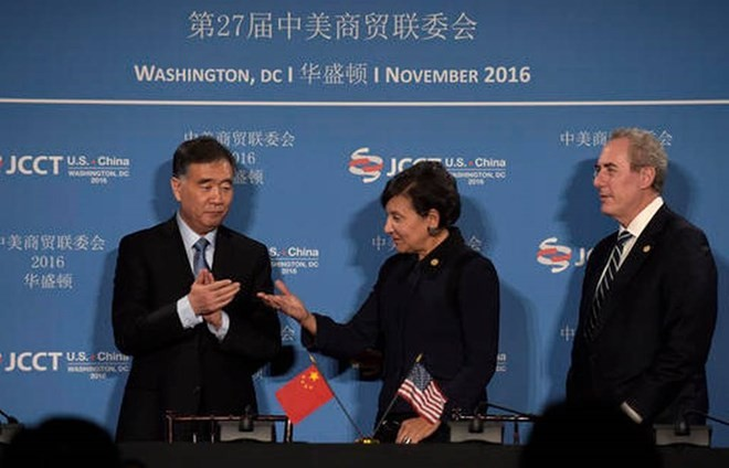 US, China start annual high-level economic dialogue  - ảnh 1