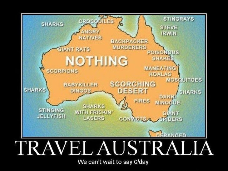 Australian sense of humour - ảnh 1