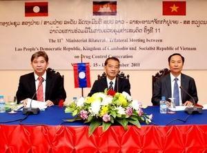 Завершилась 11-ая конференция Лаоса, Камбоджи и Вьетнама - ảnh 1
