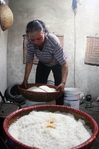 Клейкий рис деревни Га известен всему Ханою - ảnh 1