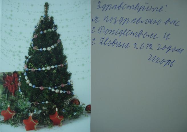 Поздравления с Рождеством и Новым годом от Игоря Фокина - ảnh 1