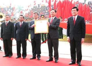 Митинг, посвящённый 180-летию со дня образования провинции Хынг Иен - ảnh 1