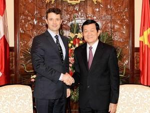 Официальный визит наследного принца Дании Фредерика во Вьетнам - ảnh 1