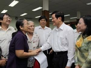 Встречи депутатов Национального собрания СРВ с избирателями - ảnh 1