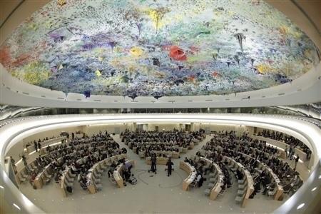Была принята резолюция, осуждающая нарушения прав человека в Сирии - ảnh 1