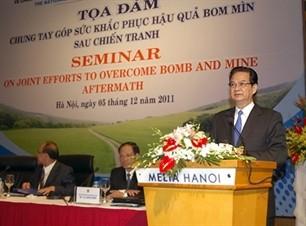 Совместные усилия в осуществлении программы действий по ликвидации бомб и мин - ảnh 1