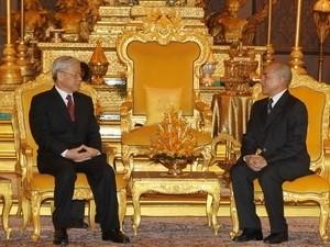 Развитие и укрепление дружбы и солидарности между Вьетнамом и Камбоджей  - ảnh 1