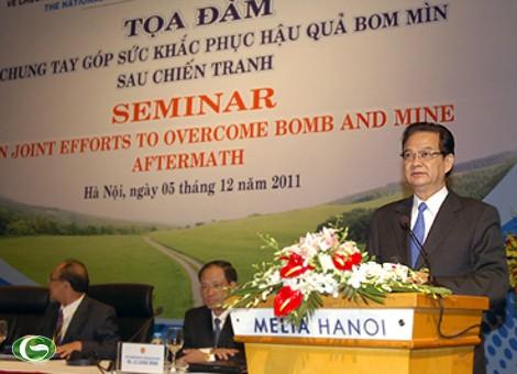 Государственная программа по обезреживанию боевых снарядов во Вьетнаме - ảnh 1