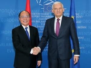 Развитие сотрудничества с Бельгией, Великобританией и Европарламентом - ảnh 1