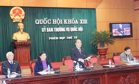 Открытие 4-ого заседания Постоянного комитета Национального собрания СРВ - ảnh 1