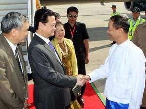 Развитие сотрудничества с Мьянмой и... - ảnh 1