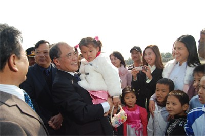 Спикер вьетнамского парламента находился в городе Хайфоне с рабочей поездкой - ảnh 1