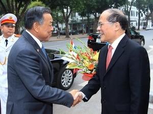 Спикер Сената Таиланда успешно завершил официальный визит во Вьетнам - ảnh 1