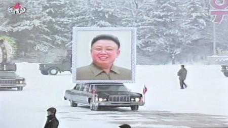 В КНДР началась церемония похорон лидера страны Ким Чен Ира - ảnh 1