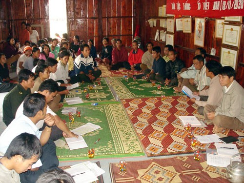 Уезд Тэйзанг призывает местных жителей к строительству новой деревни - ảnh 2