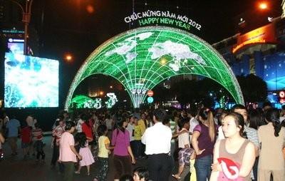 Жители нашей планеты встречают новый 2012 год с желаниями мира и счастья - ảnh 2