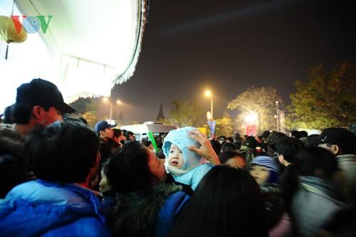 Новогодняя атмосфера в Ханое - ảnh 8
