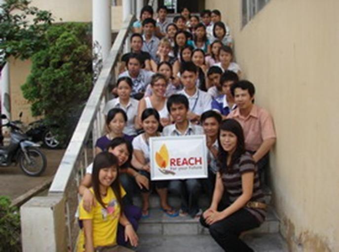 Организация «Reach» воплащает в реальность мечты молодых людей... - ảnh 1