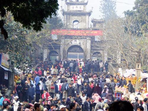 Ханойский уезд Мидык тщательно подготовился к празднику пагоды Хыонг - ảnh 1