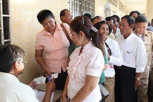Открытие выборов в Сенат Парламента Королевства Камбоджа 3-го созыва - ảnh 1