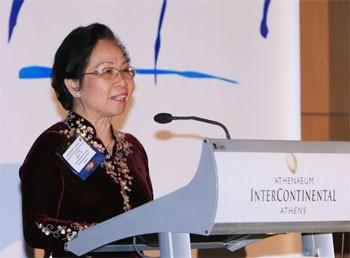 Вице-президент СРВ присутствовала на открытии Глобального саммита женщин - ảnh 1