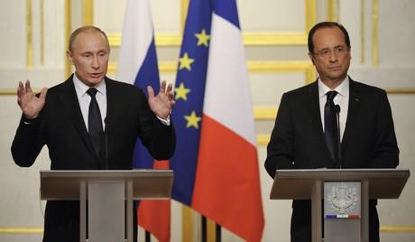 Россия, Франция высказали разные точки зрения по вопросу решения кризиса в Сирии - ảnh 1