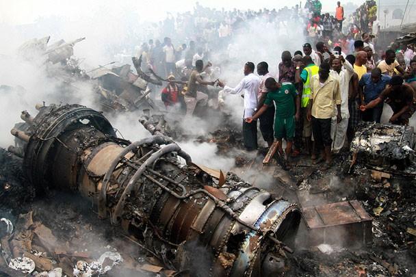 Жертвами катастрофы самолёта в Нигерии стали более 150 человек - ảnh 1