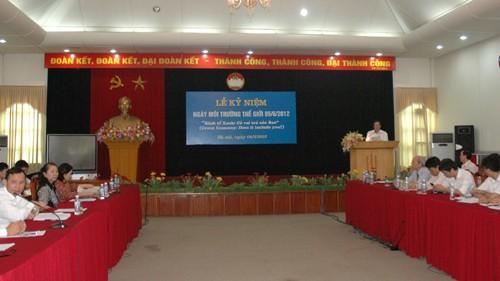 ЦК Отечественного фронта Вьетнама организовал митинг, посвященный... - ảnh 1