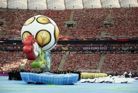 Открытие Чемпионата Европы по футболу- 2012 - ảnh 1