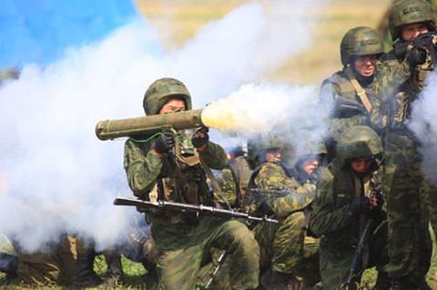 В Таджикистане стартовали антитеррористические учения - ảnh 1