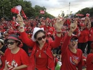 «Краснорубашечники» в Тайланде прекратили шествия протеста Конституционному суду - ảnh 1