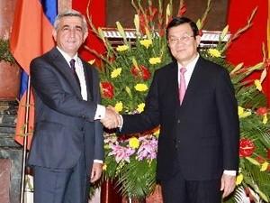Президент Республики Армения успешно завершил свой официальный визит во Вьетнам - ảnh 1