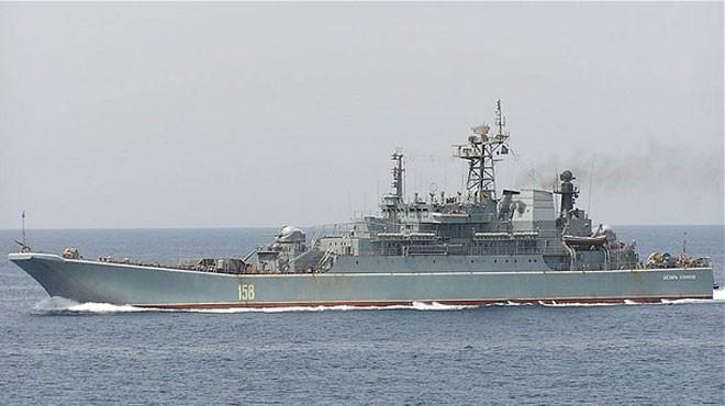 Российские военные корабли отплывут в Сирию - ảnh 1