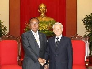 Нгуен Фу Чонг принял председателя федерального парламента Мьянмы - ảnh 1