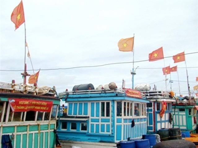 Стремление жителей-рыбаков уезда Лишон вести дальнюю ловлю в Восточном море - ảnh 2