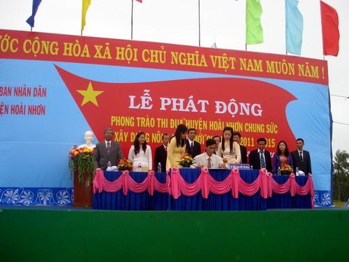 Достижение консенсуса в строительстве новой деревни в провинции Биньдинь - ảnh 1
