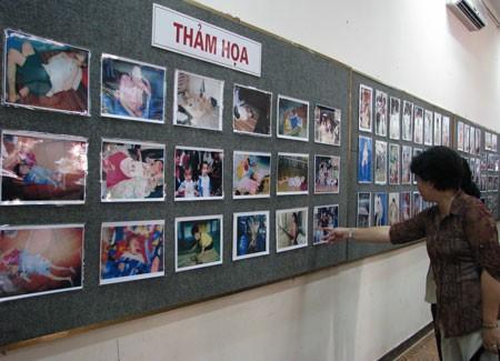 Выставка, посвященная 51-летию со дня начала трагедии дефолианта эйджент орандж - ảnh 1